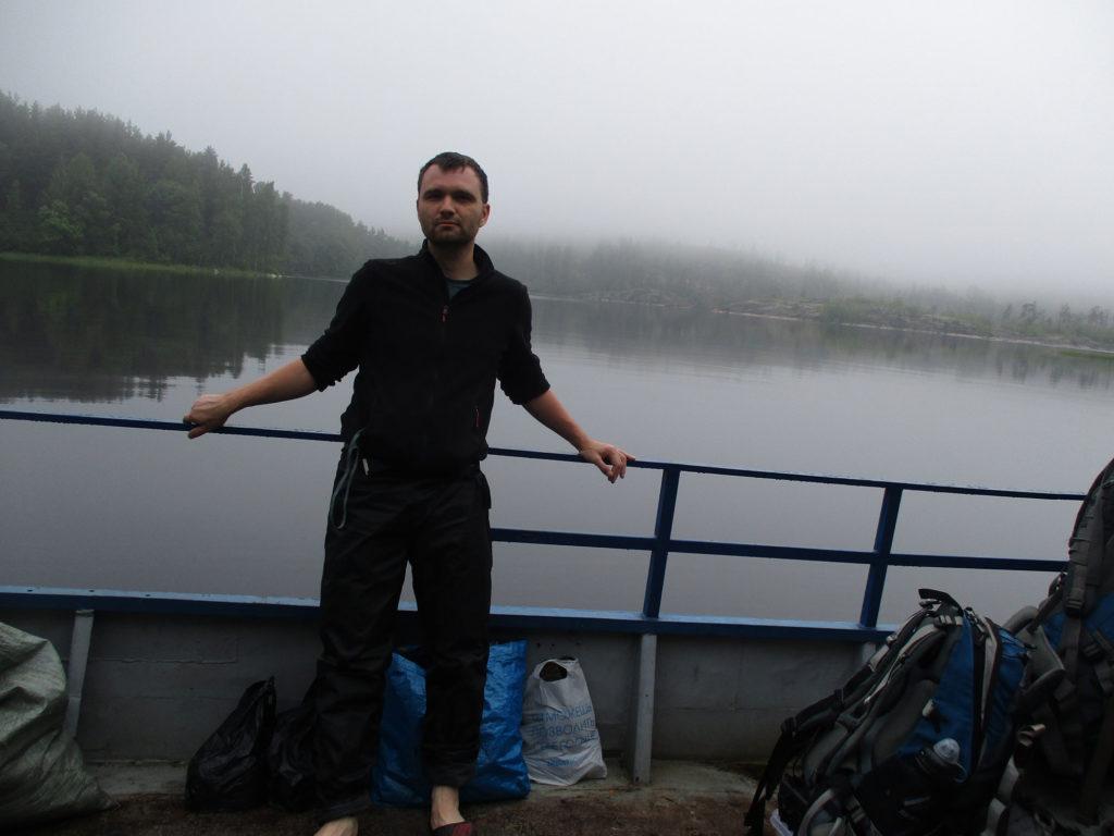 туман на Ладоге